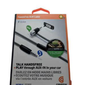 Griffin HandsFree Aux Cable 1