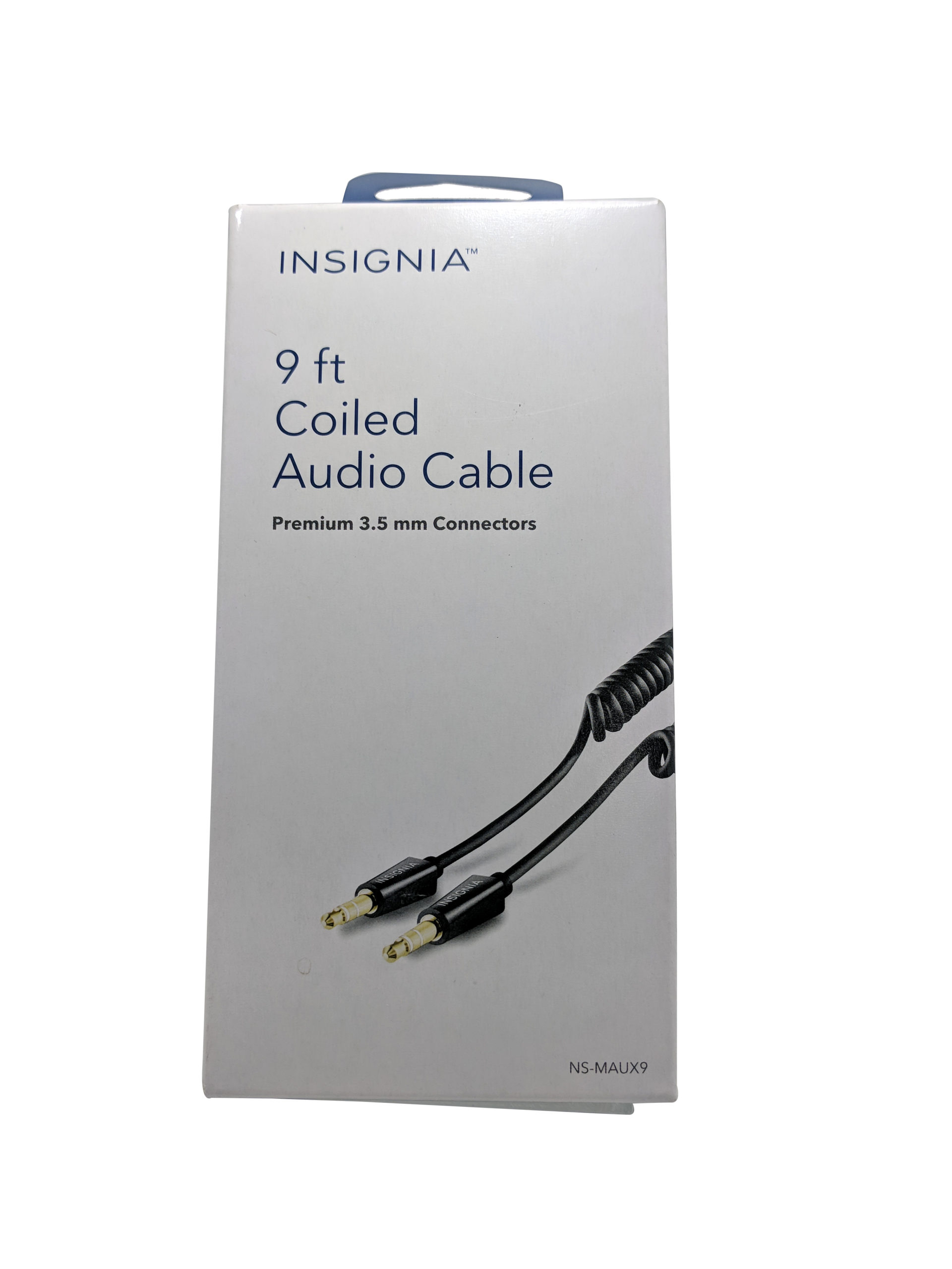 Insignia 9ft Coiled Audio Cable