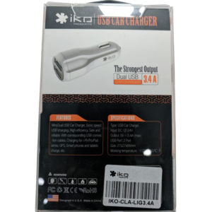 iKO USB Car Charger for sale in Jamaica