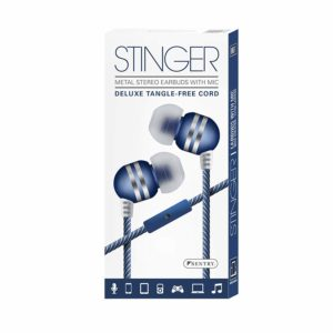 Sentry Stinger Deluxe Tangle-Free Earbuds