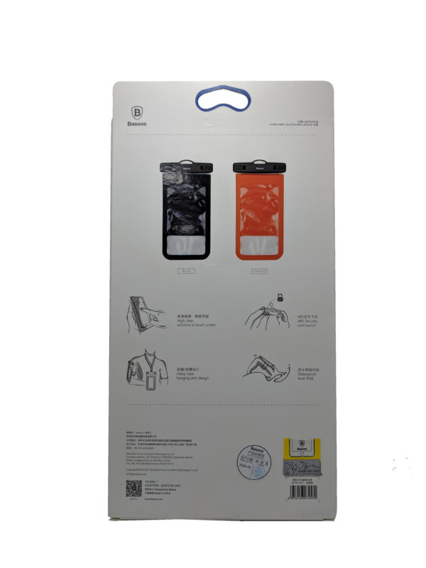 Baseus Waterproof Dry Bag Pouch For Phone Jamaica 1